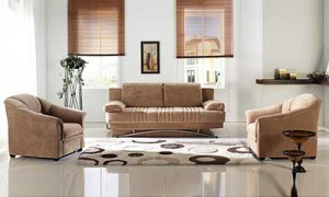 Fantasy Light Brown Sofa Bed