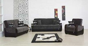 Ferhan dark grey sofa bed