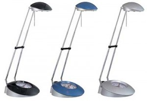 Halogen Clock Desk Lamp LS-247