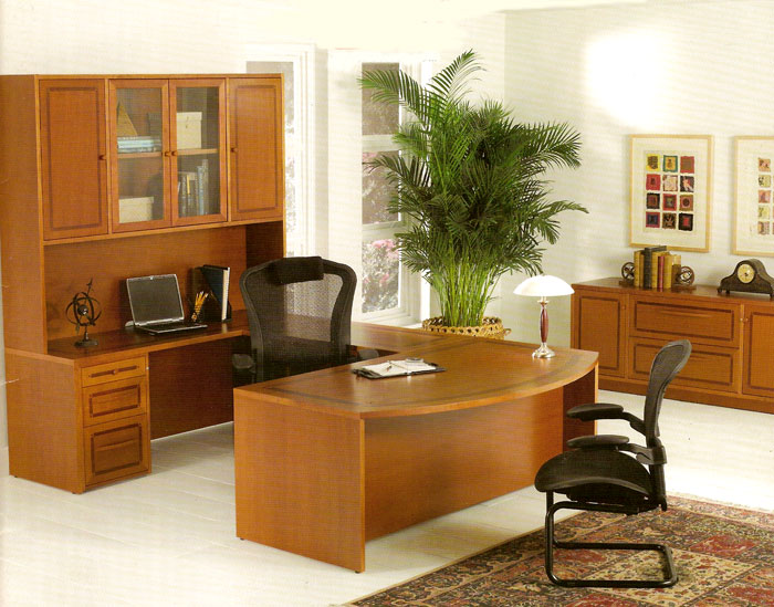 Home Office with Branded Executive Set