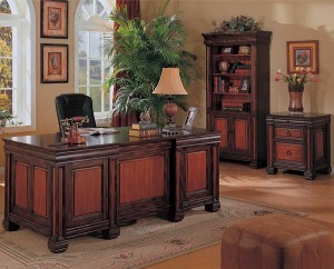 Grand Looking Home Office with Branded Executive Set